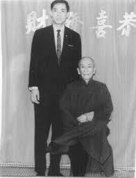Gran Maestro Moy Yat con Ip Man