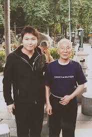 Wing Tsun Leo Yeung con Ip Chun