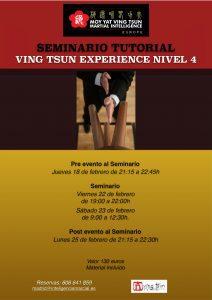 Seminario Naturaleza Mui Fa Jong de Ving Tsun